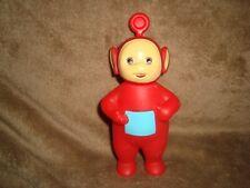 "Teletubbies Po Red Plastic Figure 1998 ragdoll Hasbro 5.5"" tall"