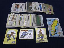 Panini EM EK EC 92 Euro 1992, complete stickers set/Komplettsatz Bilder, INT+YUG