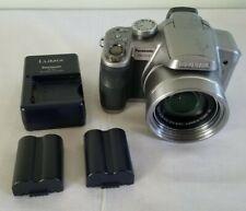 Panasonic LUMIX DMC-FZ18 8.1MP 18X Optical Zoom Digital Camera - Silver *GOOD*