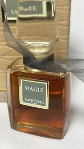 LANCOME Magie pure Perfume reine Parfum Extrait 10ml 1/3oz VERSIEGELT BOX 1970