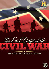 Last Days Of The Civil War. 2 DVD set. New In Shrink!