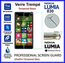 NOKIA 830 Tempered Glass Vitre de protection d'écran en VERRE TREMPE