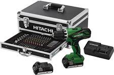 Hitachi Akku-Schlagbohrschrauber DV18DJL 100 Teilig POWER BOX SET 2.0