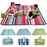 Extra Large Soft Picnic Blanket Waterproof Backing Portable Travel Outdoor Mat