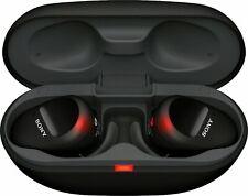 Sony WF-SP800N True Wireless Noise-Cancelling In-Ear Headphones - BLACK