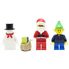LEGO Santa Snowman and Elf Minifigure Pack Xmas Christmas