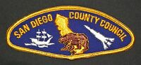 MERGED SAN DIEGO COUNTY COUNCIL OA 49 TIWAHE 45 FLAP PATCH RARE VARIETY CSP