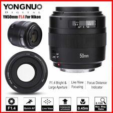 YONGNUO YN50mm F1.4 Standard Prime Lens Large Aperture AF Lens for Canon Camera