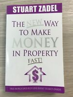 The New Way To Make Money In Property Fast! Stuart Zadel Unique Strategies Book