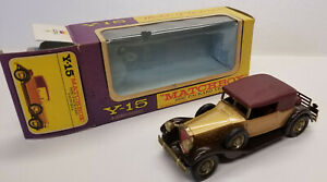 1930 Packard Victoria; Y-15 Vintage 1969 Matchbox Models of Yesteryear, Boxed