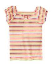 NWT Gymboree Girls Aloha Sunshine Bow Striped Top Size 5 & 8