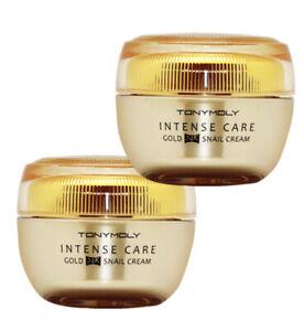 Tonymoly Intense Care Gold 24K Snail Cream (45ml) * 2ea