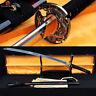 Hand Forged Damascus Steel Japanese Katana Samurai Sword Sharp Blade Full Tang
