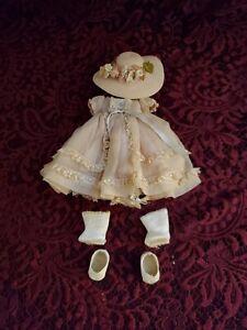 "Vintage Madame Alexander Tagged ""Alexander-kins"" Dress W/ Complete Outfit Nice"