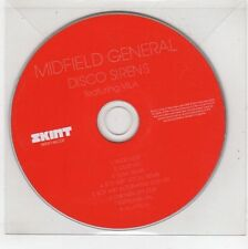 (GS501) Midfield General, Disco Sirens - 2006 DJ CD