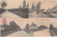 CIRCUIT SARTHE 1906 France 24 Vintage Car Racing postcards