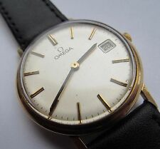 Vintage 9 ct gold Omega gents wrist watch
