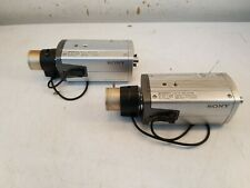 *Lot of 2 * SONY SSC-DC193 COLOR VIDEO CAMERA CCTV Lens 2.5-8.0mm