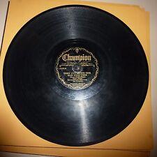 PREWAR COUNTRY 78 RPM RECORD - GENE AUTRY - (BLACK LABEL) CHAMPION 16050