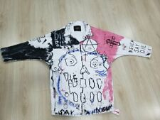 Lil Peep Never Say Die Jacket Denim Custom Made Free Shipping L Size HighQuality