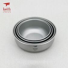Keith Titanium Ti5377 4-Piece Bowl Set (Shipped from California, USA)