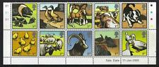GREAT BRITAIN 2005 FARM ANIMALS SALE DATE SET OF 10 UNMOUNTED MINT. MNH