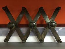 Appendiabiti estensibile in legno vintage anni 30 allungabile attaccapanni