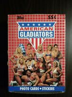 1991 Topps American Gladiators Non X Out Box 36 Packs