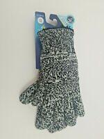 Isotoner Women's SmartDri Sherpa Lined Knit Glove - Black / Ivory One Size