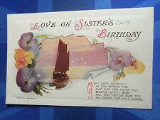 Bamforth & Co Ltd Birthday Collectable Greeting Postcards