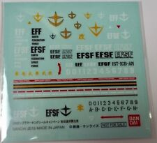 Bandai Original made in Japan Efsf Waterslide Decal - for Gundam Efsf model