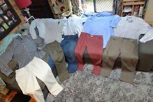 Bulk lot mens sz 42/XXXL winter clothes Sportscraft/Bisley/Tribute/Callaway golf