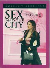 COFFRET 6 DVD--SERIE TV--SEX AND THE CITY - INTEGRALE SAISON 6 - 20 EPISODES