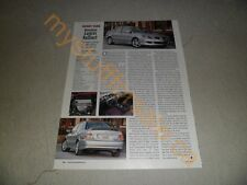 2005 MITSUBISHI LANCER RALLIART ARTICLE / AD