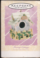 1994 Hallmark Treetop Cottage Birdhouse Dated Ornament NIB NEW