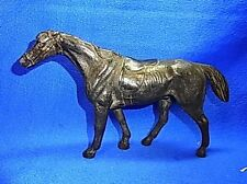 Vintage German Metal Horse Figurine Bronze Colour #AR