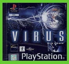 VIRUS IT IS AWARE playstation1 NUOVO ps1 SIGILLATO play 2 ITA station play1