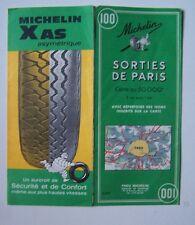 #) carte MICHELIN 100 sorties de PARIS 1967