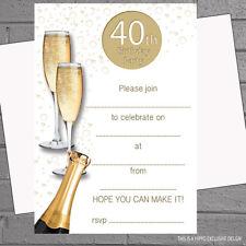 90th Birthday Invitations Ebay