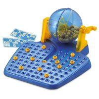 Juego de Bingo Lotto manual grande de 90 bolas numeros 48 cartones juegos