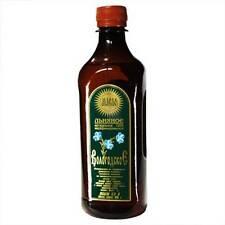 Olio di semi di lino Olio di lino 500 ml Spremuto a freddo ЛЬНЯНОЕ масло