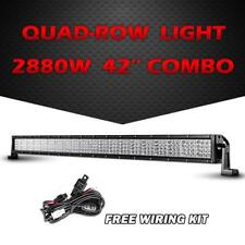 "QUAD ROW 42"" inch 2880W CREE LED Light Bar Driving Truck Offroad for CHEVROLET"