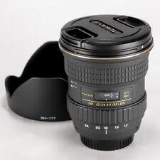 Tokina 12-24mm f/4 AT-X PRO AF SD IF DX Lens For Nikon << Excellent >>