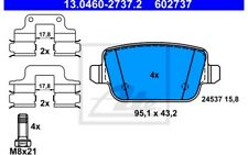 ATE Juego de pastillas freno Trasero para VOLVO S80 LAND ROVER 13.0460-2737.2
