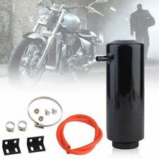 Universal Radiator Coolant Aluminum Catch Tank Overflow Reservoir Black NEW US