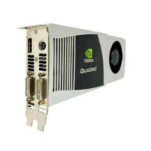 NVIDIA HP Quadro FX5800 DDR3 Video Graphics Card 4GB PCI-E Displayport Dual DVI