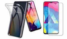 Samsung Galaxy A80 Hülle Case ULTRA SLIM Klar Cover Tasche Handy + Hart 9H GLAS