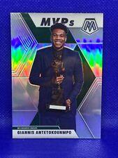 2019-20 Mosaic GIANNIS ANTETOKOUNMPO MVP SILVER PRIZM #297-Very nice, see PICS