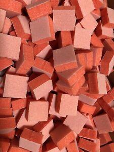 25 Pieces Mini Buffer Sanding Block 2 Sided 150/180 * Nail Techs' Choice
