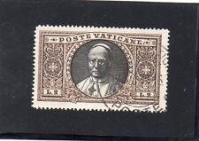 VATICAN...N° 55 OBLITERE..2 L SEPIA..PIE XI...1933   COTE  32 €. PRIX: 5,95  €